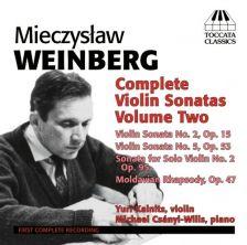 TOCC0026. WEINBERG Complete Violin Sonatas Vol 2. Yuri Kalnits