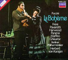 La boheme: Schöneberg Boys' Choir; Chorus of the Berlin State Opera; Berlin Philharmonic Orchestra / Herbert von Karajan