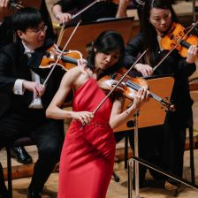 Nancy Zhou, winner of the Shanghai Isaac Stern International Violin Competition (photo: Shanghai Symphony Orchestra)