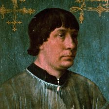 Jacob Obrecht, painted by Hans Memling in 1496 (Lebrecht Music & Arts)