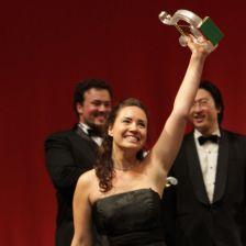Soprano Sonya Yoncheva celebrates (photo: Marco Brescia - Teatro alla Scala)