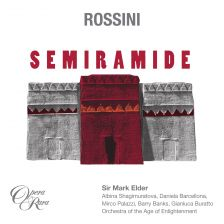 Opera Rara - whose next release is Rossini's Semiramide - strikes a distribution deal with Warners
