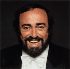 Luciano Pavarotti (photo: Terry O'Neill / Decca)