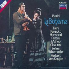 Karajan-Pavarotti-Freni-LaBoheme