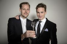 Robert Ames (left) and Hugh Brunt (right) won the RPS Ensemble Award in 2015. Photo by Simon Jay Price