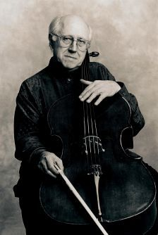 Mstislav Rostropovich (photo: Sasha Gusov/EMI Classics)