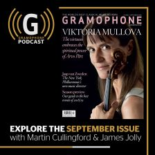 Mullova records Pärt, and this month's best recordings: the Gramophone Podcast