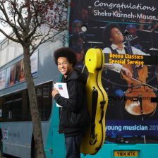 17-year-old cellist Sheku Kanneh-Mason signs to Decca (photo: Shawn Ryan)