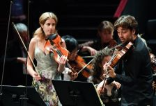 Vilde Frang and Lawrence Power perform Mozart's Sinfonia concertante