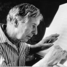 Michael Tippett in 1989 (photo Schott)