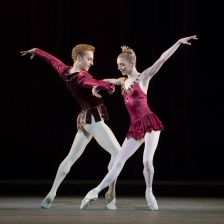 Steven McRae and Sarah Lamb in Rubies, from 2013 (ROH/Bill Cooper)