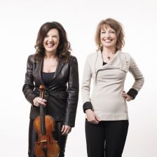 Tasmin Little and Roxanna Panufnik on Four Seasons, old and new (Photo: Benjamin Ealovega)