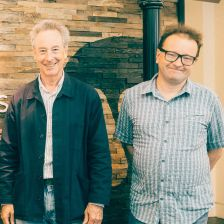 Working together: the Leeds Competition's co-Artistic Director Adam Gatehouse and Warner Classics's Head of A&R Jean-Phillippe Rolland