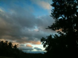 Twilight on the Taconic Parkway