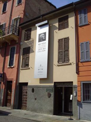 Toscanini's birthplace, now a fascinating museum