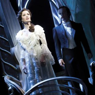Sierra Boggess and Ramin Karimloo star (photo: Catherine Ashmore)