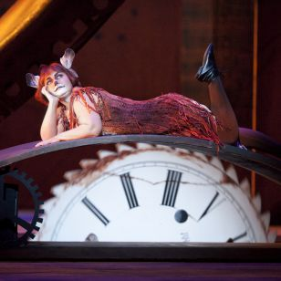 Emma Matthews as Vixen Sharp Ears (Photo: Johan Persson / Royal Opera)