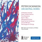 HTGCD211. DICKINSON Orchestral Works