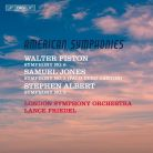 BIS2118. PISTON; JONES; ALBERT 'American Symphonies'