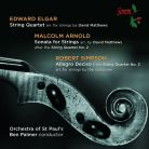 SOMMCD0145. ELGAR; ARNOLD; SIMPSON Quartets Arranged for Strings