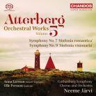 CHSA5166. ATTERBERG Symphonies Nos 7 & 9
