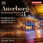CHSA5154. ATTERBERG Symphonies Nos 1 & 5