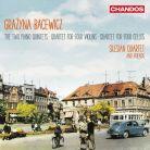 CHAN10976. BACEWICZ String Quintets and Quartets