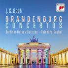 88985 361112. JS BACH Brandenburg Concertos (Goebel)