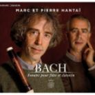 MIR370. JS BACH Sonatas for Flute and Harpsichord (Marc & Pierre Hantaï )