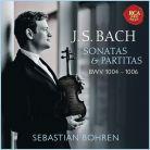 19075 83695-2. JS BACH Solo Violin Partitas BWV1004-1006 (Bohren)