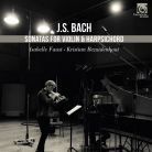 HMM90 2256 57. JS BACH Sonatas for Violin and Harpsichord BWV1014-1019 (Faust)