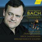 CDHC17046. JS BACH Violin Concertos (Zimmermann)