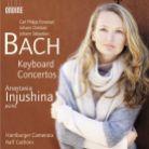 ODE1224-2 CPE, JC and JS BACH Keyboard Concertos,Injushina