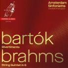 CCS37518. BARTÓK Divertimento BRAHMS String Quintet No 2