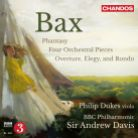 CHAN10829. BAX 4 Orchestral Pieces