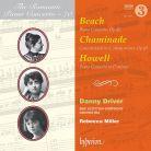 CDA68130. HOWELL; BEACH; CHAMINADE Piano Concertos