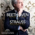FR728. BEETHOVEN Symphony No 3 STRAUSS Horn Concerto (Honeck)