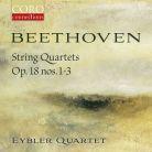 COR16164. BEETHOVEN String Quartets Nos 1 - 3 (Eyblet Quartet)