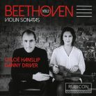 RCD1011. BEETHOVEN Sonatas for Piano & Violin, Vol 2 (Hanslip & Driver)