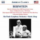 8 559813. BERNSTEIN Suite for Orchestra. Slava! (Alsop)