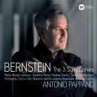9029 56615-8. BERNSTEIN Symphonies Nos 1-3 (Pappano)