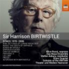 BIRTWISTLE Songs 1970 - 2006