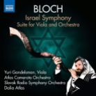 8 573283. BLOCH Israel Symphony. Suite for Viola and Orchestra