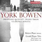 CHAN10805. BOWEN Piano Trio. Clarinet Sonata. Rhapsody Trio