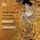NI6310. BRAHMS Clarinet Quintet ZEMLINSKY Trio
