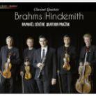 MIR282. BRAHMS; HINDEMITH Clarinet Quintets