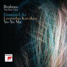 88985 40729-2. BRAHMS Three Piano Trios