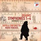 19075853112. BRAHMS Symphonies and Serenades (Venzago)