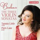 CHAN10977. BRAHMS 3 Violin Sonatas (Little)