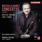 CHAN10891. British Clarinet Concertos Vol 2